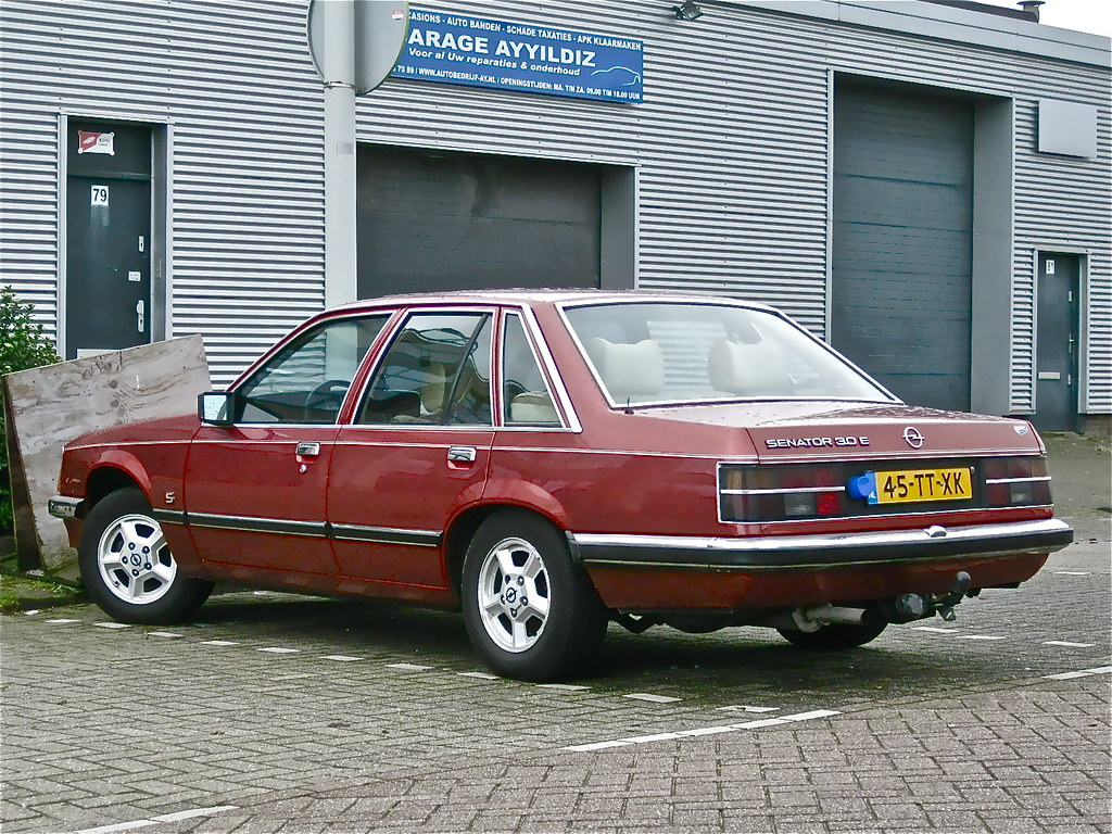 1981 opel senator 3 0e s automatic the 80s generation of b flickr. Black Bedroom Furniture Sets. Home Design Ideas