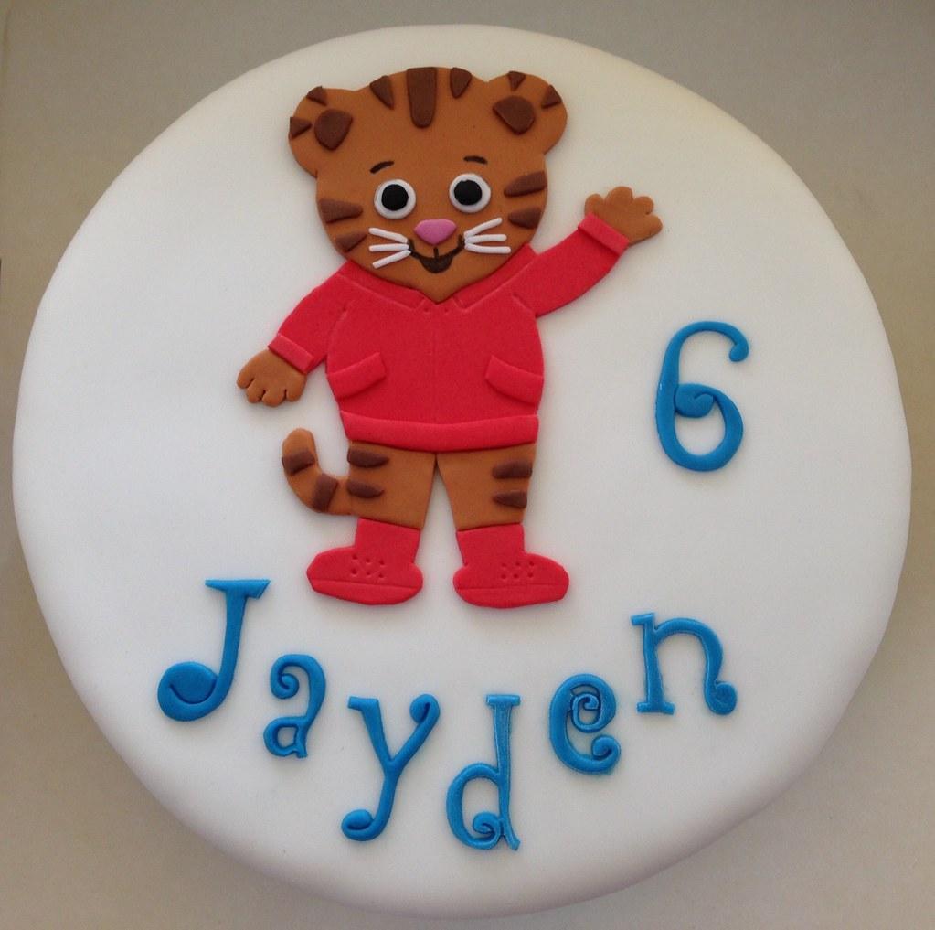 Der Kleine Tiger Daniel Torte Daniel Tiger Cake Kerry