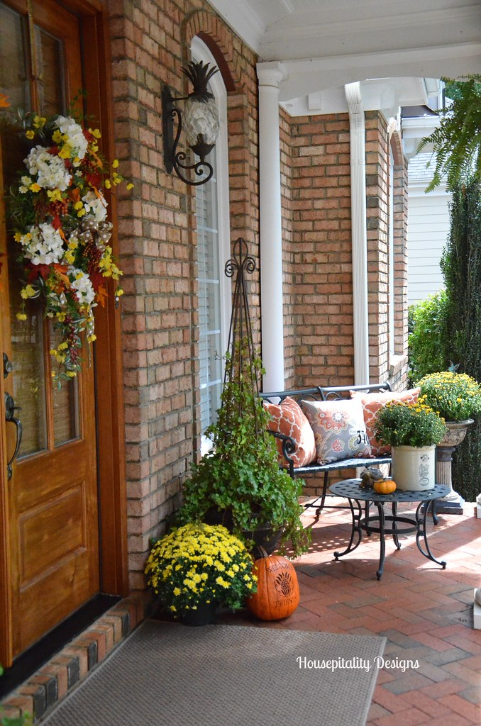 Housepitality Designs: 2014 Fall Front Porch-Housepitality Designs