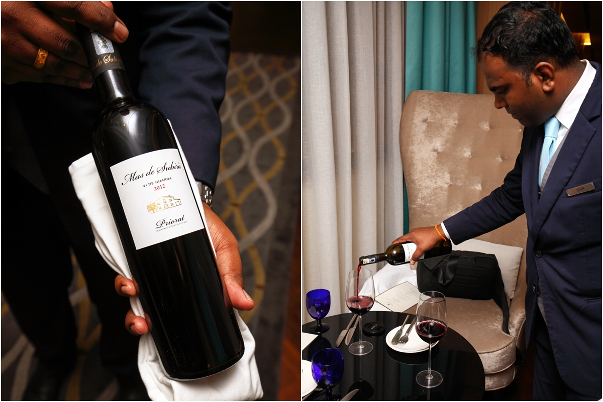 Jose Alonso Ritz Carlton Red Wine Pairing