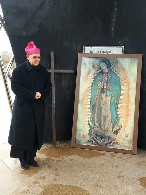 Icoana de Guadalupe în Kazachstan