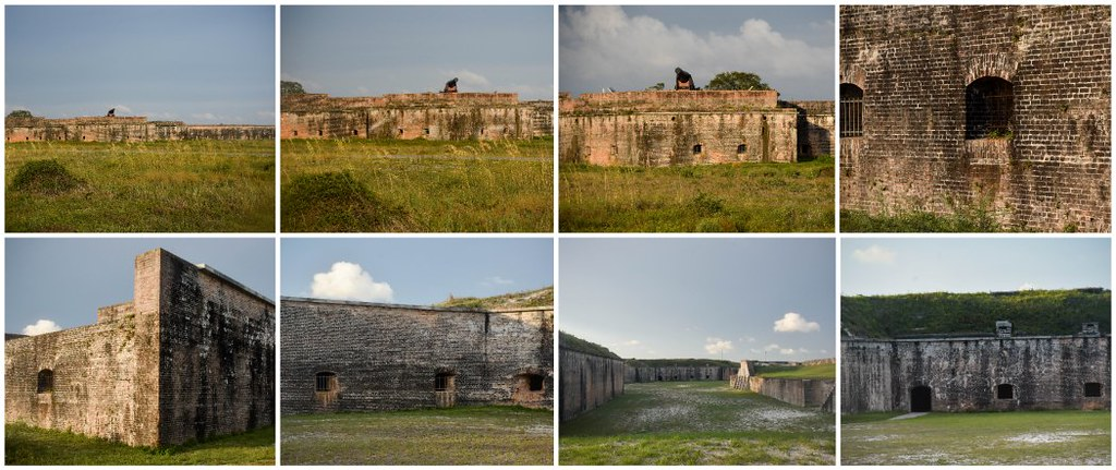 outside fort pickens