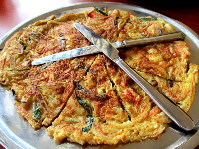 Loco Kitchen seafood pancake 1