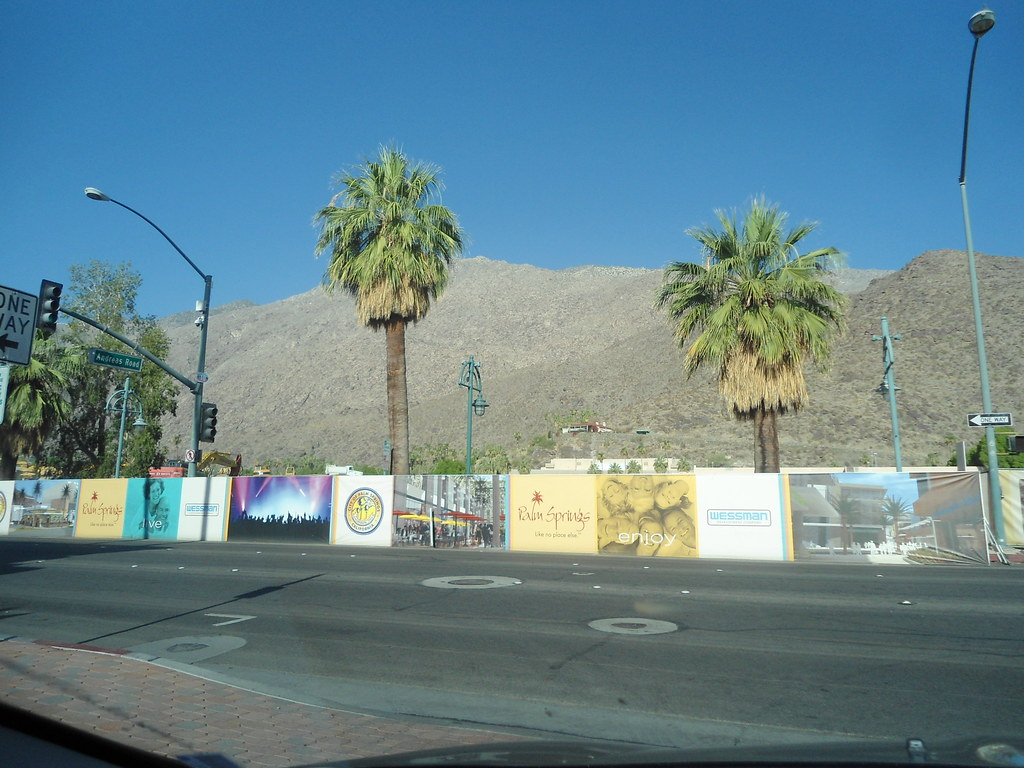 Palm Springs Desert Fashion Plaza Desert Fashion Plaza and