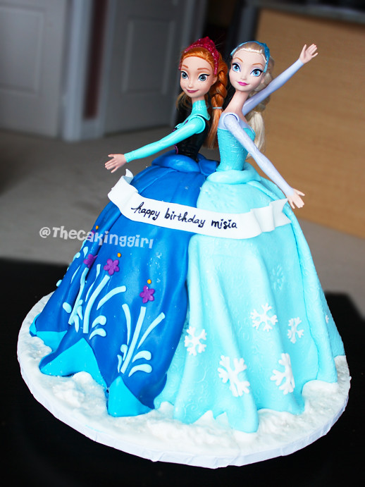 Elsa Birthday Cake Vancouver Image Inspiration of Cake and