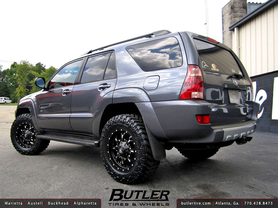 Toyota 4Runner with 18in Fuel Krank Wheels | Additional ...