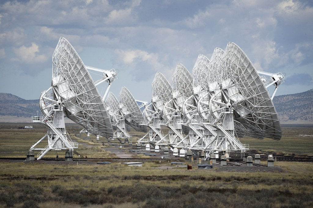 Karl G Jansky Very Large Array New Mexico It Was So