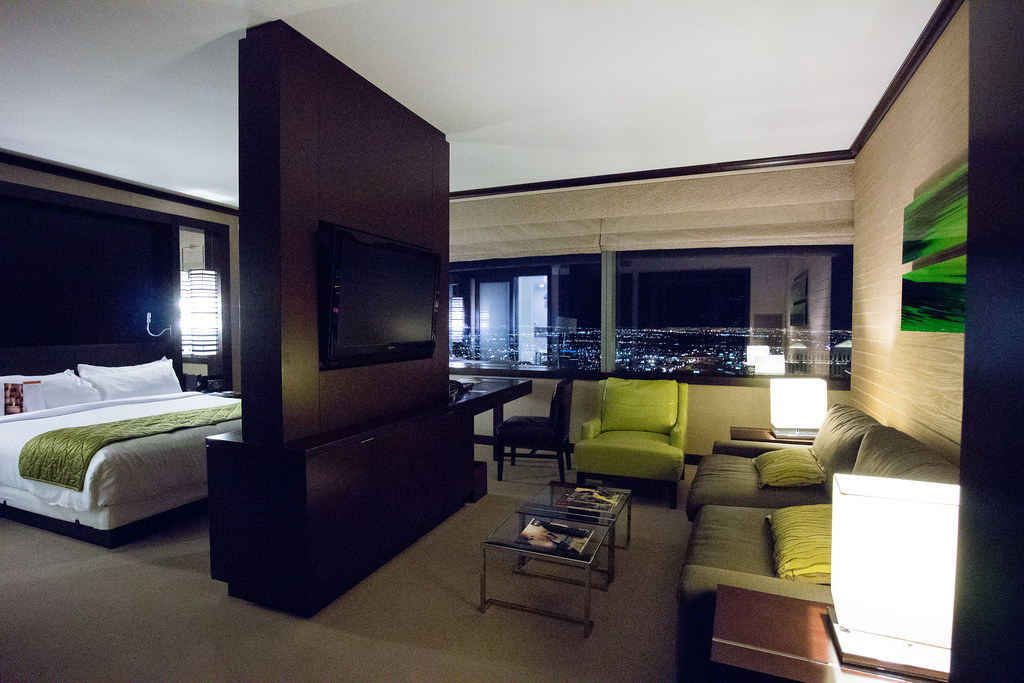 Vdara Deluxe Lake View Suite This Shows The Living Room