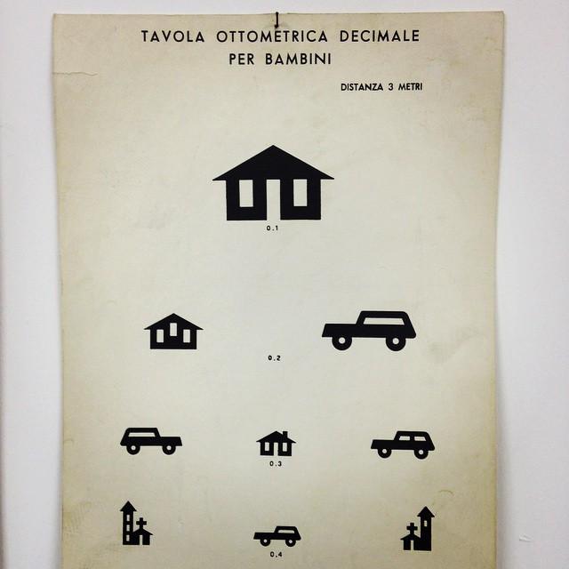 Tavola ottometrica decimale per bambini ca 1980 sbisa - Tavola periodica per bambini ...