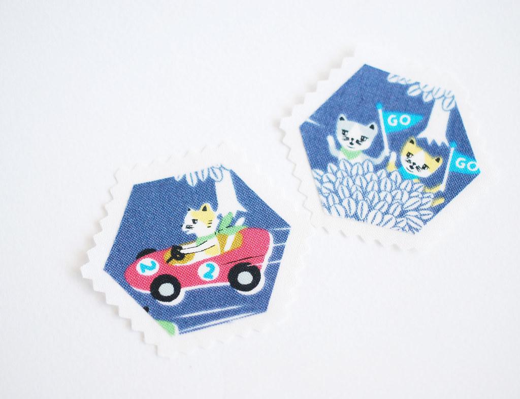Hexagon Stamps