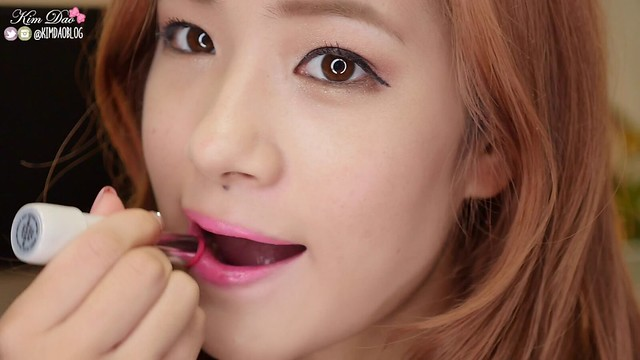 Skinfood Gloss and Moisture Intense Colour in Milky Rose Kim Dao