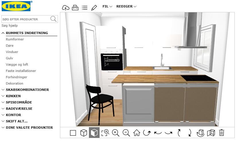 Design your own IKEA kitchen online
