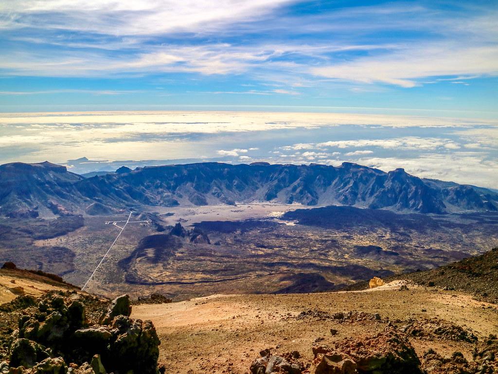 Circo Volcanico Siete Cañadas