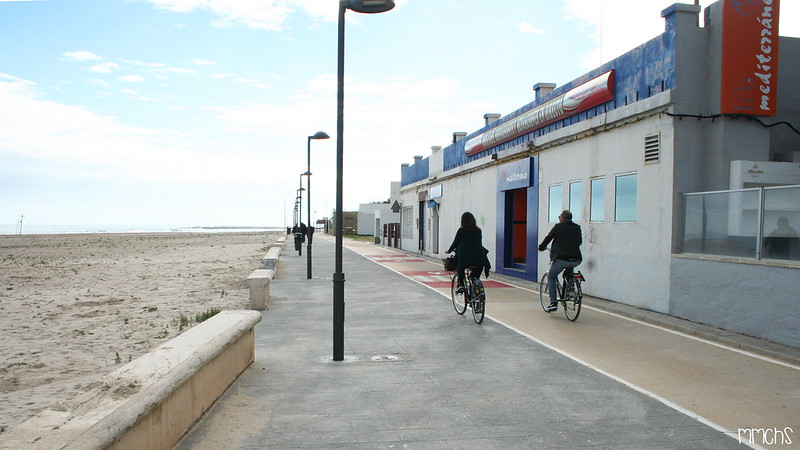 Carril bici Pinedo