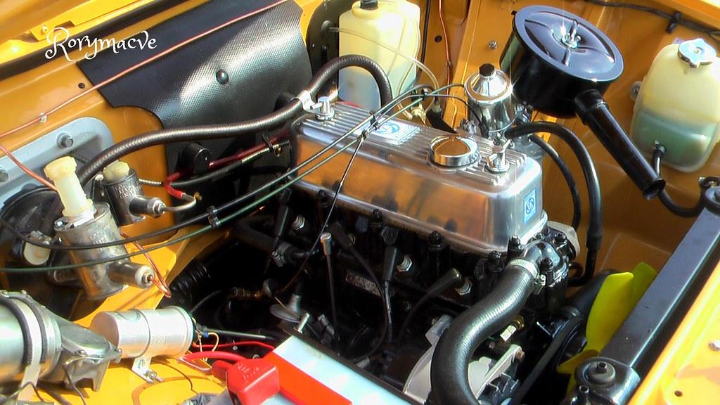 bmc   series engine morris marina making  debut flickr