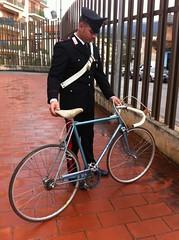 biciletta carabinieri sapri