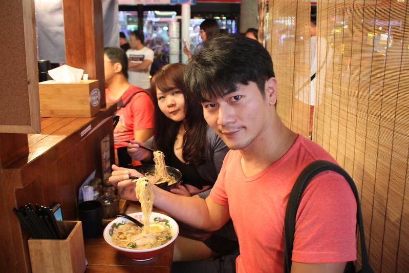 道樂屋台-士林美食-日本人在台灣的手推車拉麵 (13)