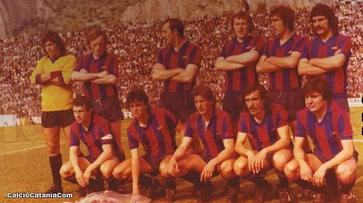 In piedi: Petrovic, Ceccarini, Malaman, Ciceri, Panizza, Labrocca. Accosciati: Spagnolo, Cantone, Pasin, Biondi, Benincasa.