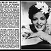 17th July 1958 - Death of Billie Holiday