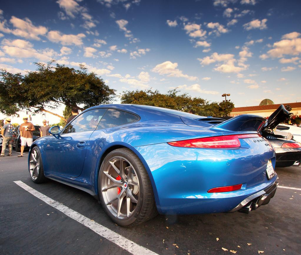 San Diego Porsche >> Porsche 991 Carrera 4S with duck tail spoiler | Taken at ...