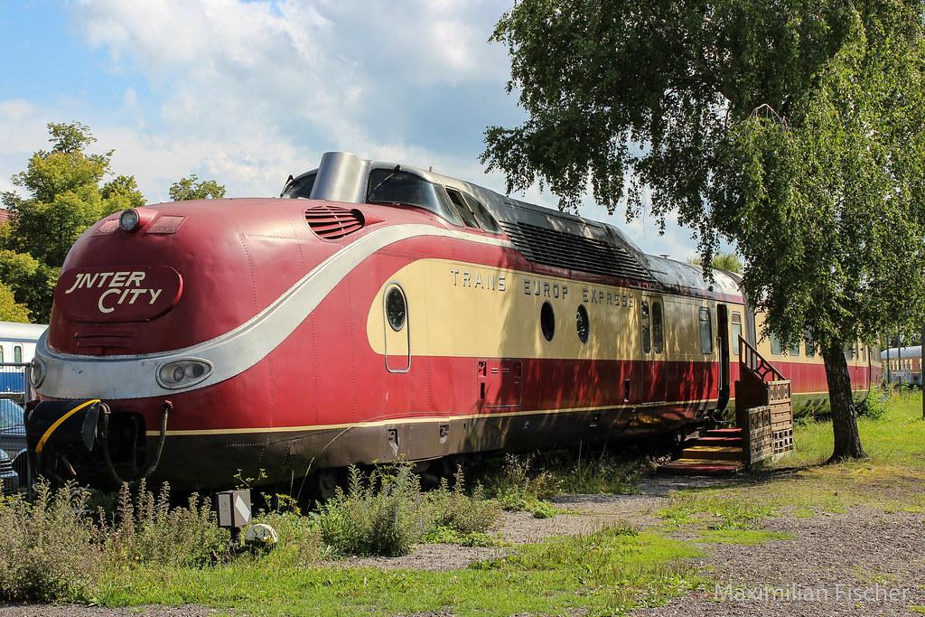 TEE (Trans Europ Express) locomotvie   [GER] Augsburg   Flickr