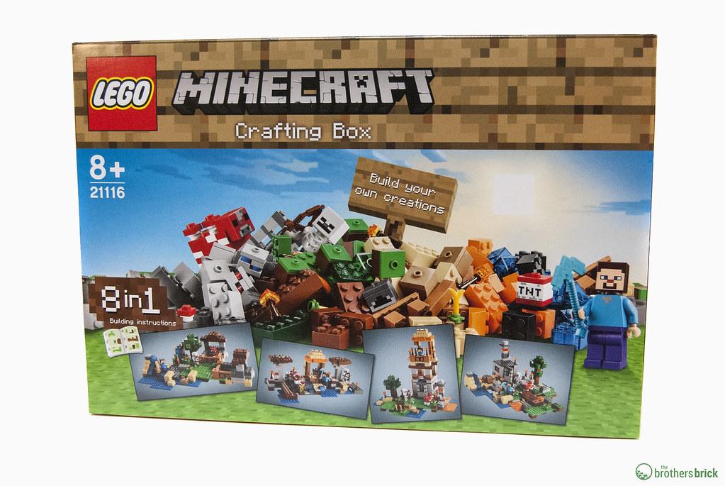 LEGO Minecraft 21116 Crafting Box | $54.99 (estimated) Avail ...
