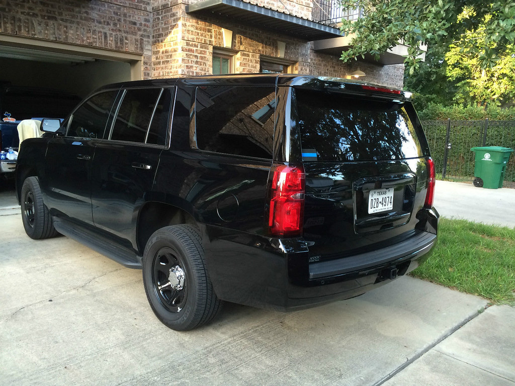 2015 Police Package Chevy Tahoe | Looks like a unit the feds ...