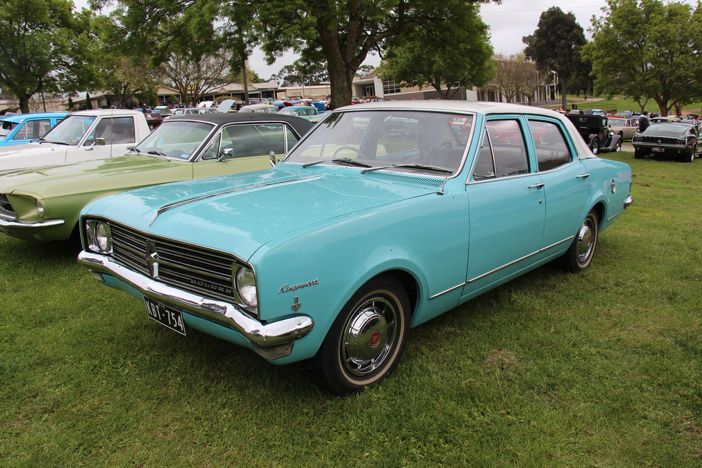 1968 Holden Hk Kingswood Sedan Marlin Turquoise With A
