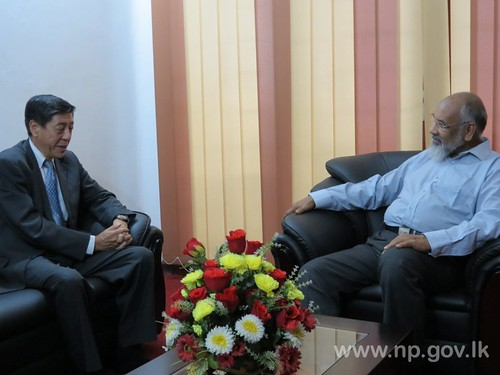 Japanese Ambassador to Sri Lanka call on Chief Minister – 30 October 2014