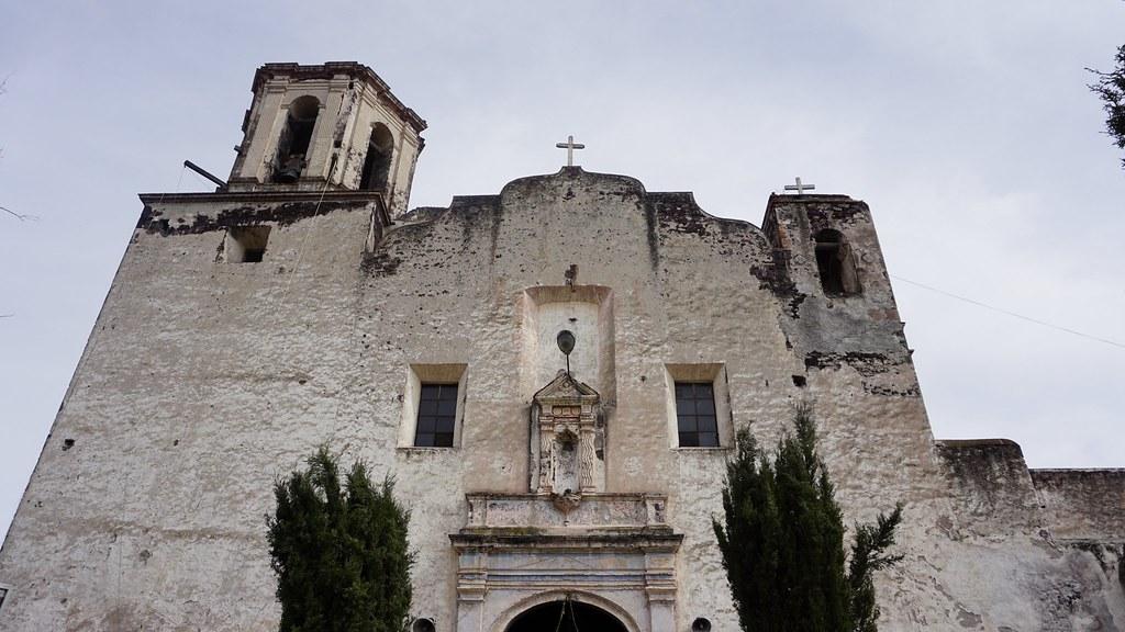 Ex convento de san pedro ap stol en villa de tezontepec for Villas de tezontepec