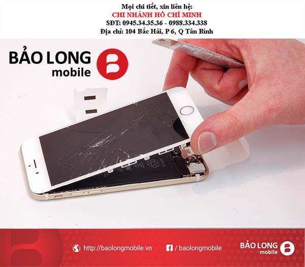 Những nơi chuyên thay thế mặt kính ĐT iPhone 6 giá tốt nhất tại Sài Gòn