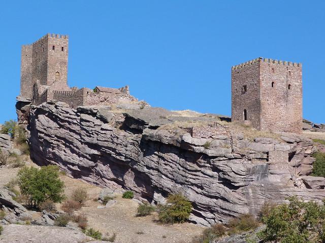 El castillo de Zafra, escenario de Juego de Tronos en Guadalajara