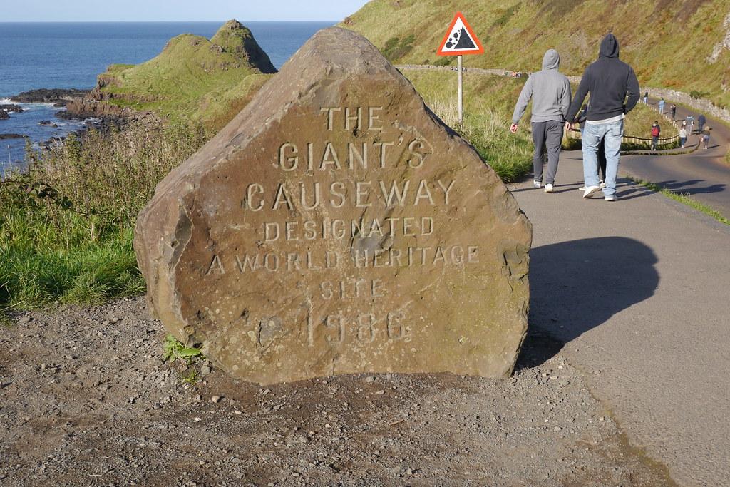 Inicio del camino a la calzada del gigante