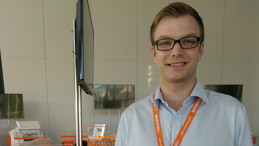 Alex is Project Manager at Renishaw