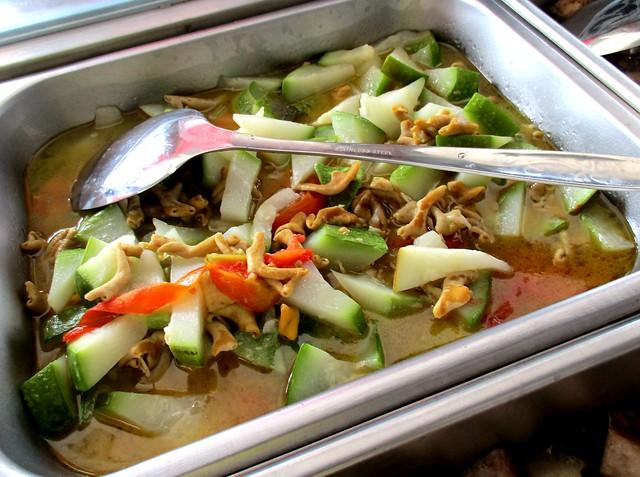 Anak Borneo gourd with sambal