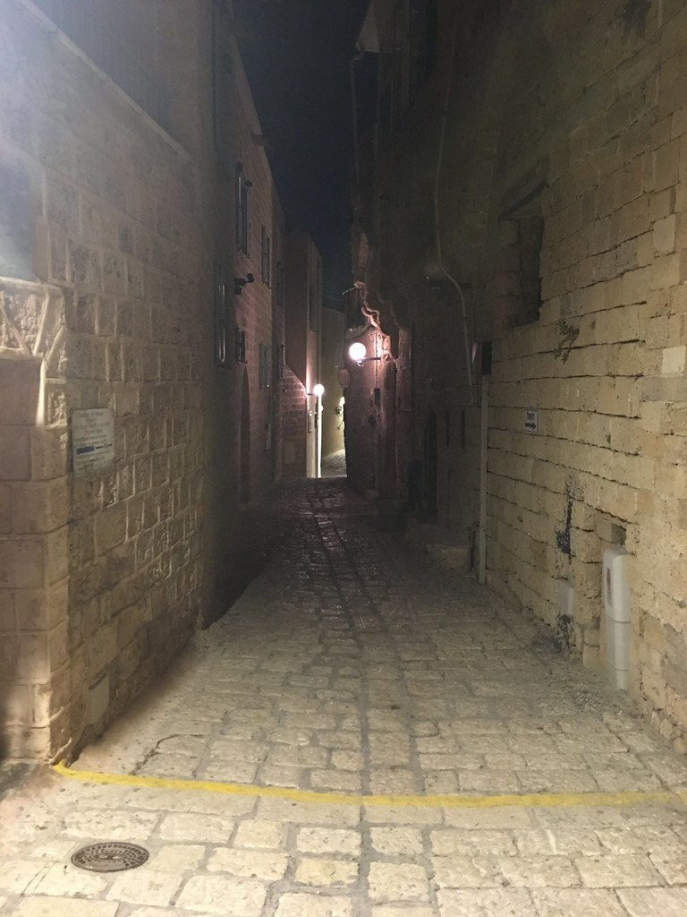 ancients streets of the Jaffa old city