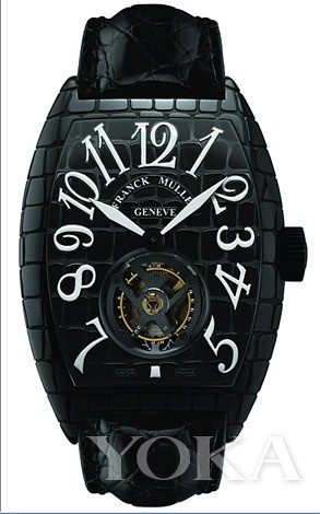 T-BLK BLACK CROCO Tourbillon 8880 CRO