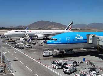 Air France KLM en SCL (RD)