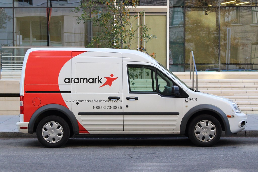 Aramark Ford Transit Connect In Washington D C So