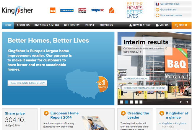 Kingfisher has released its annual Net Positive Report