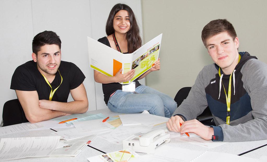 Schüler mit Migrationshintergrund