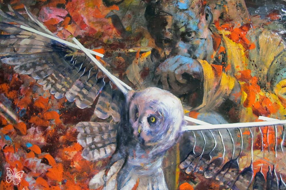 Jonas Burgert Stuck Hirn Blind Butterfly Art News Flickr