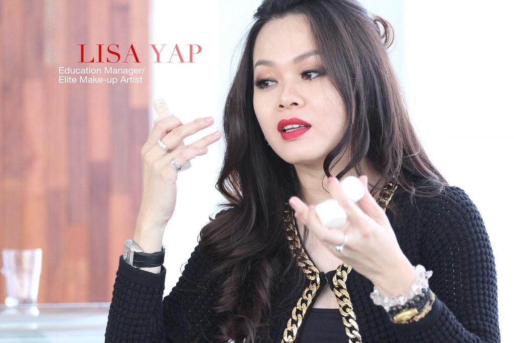 shu uemura lisa yap elite makeup artist
