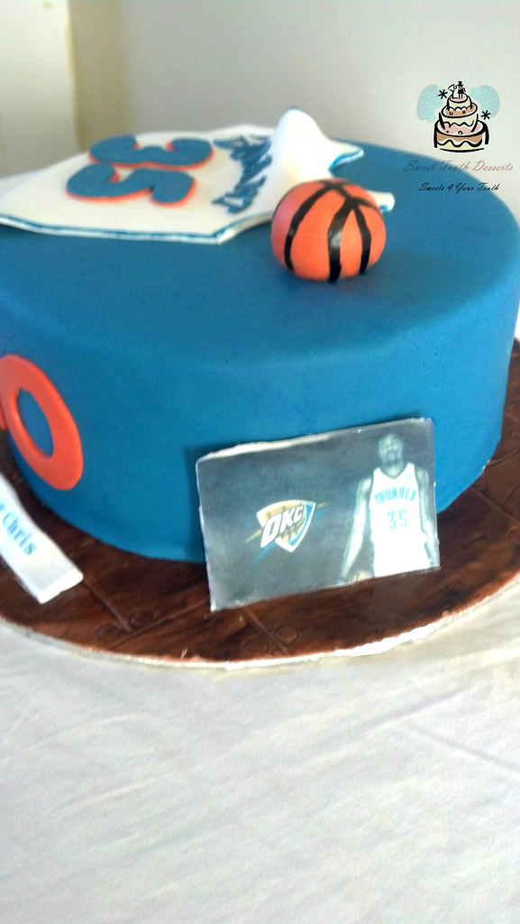 Birthday Cake Images With Name Kevin : Kevin Durant Basketball Birthday Cake 9in Kevin Durant ...