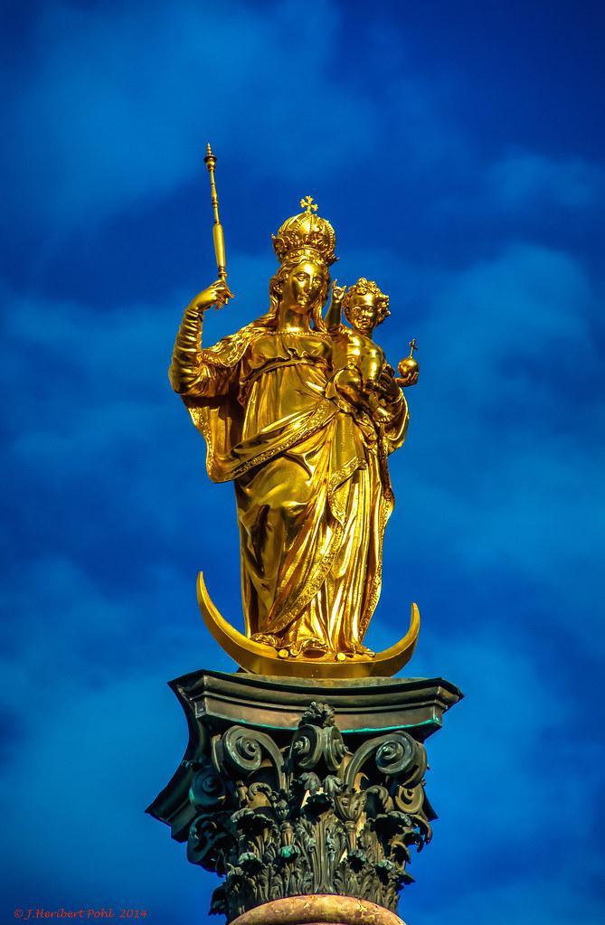 M 252 Nchen Die Vergoldete Von Hubert Gerhard 1593 Geschaffe