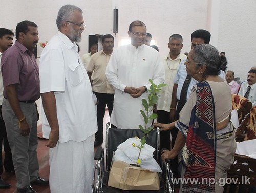 Ceremony to mark His Excellency the President's Birthday held in Jaffna - 18 November 2014