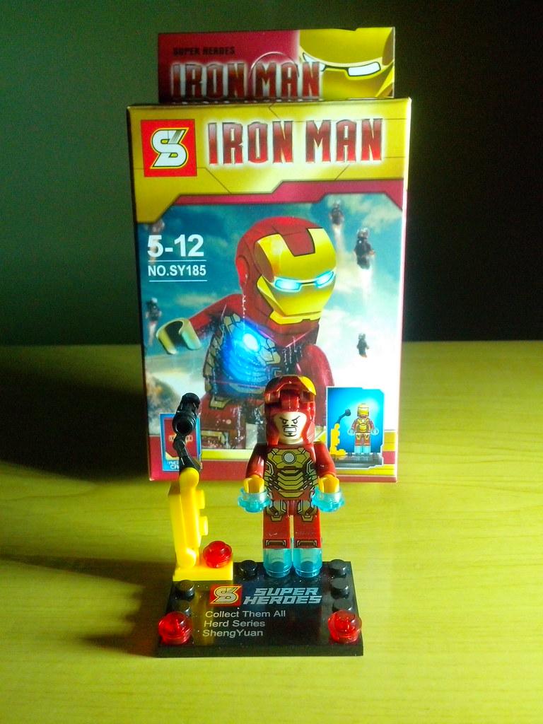 lego iron man mark 34 - photo #14
