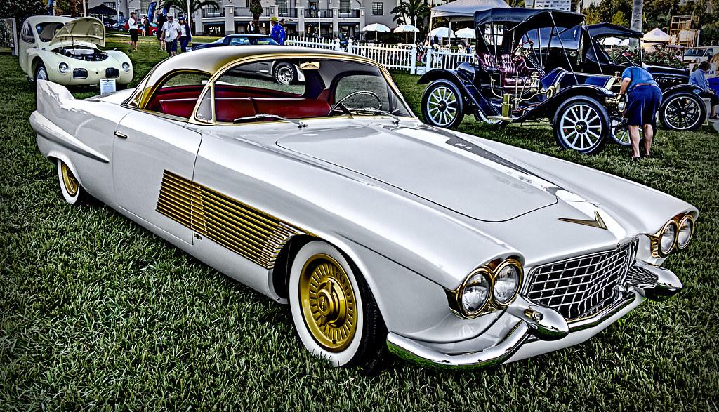 1953 Cadillac Elegante Concept 2014 Lake Mirror Classic