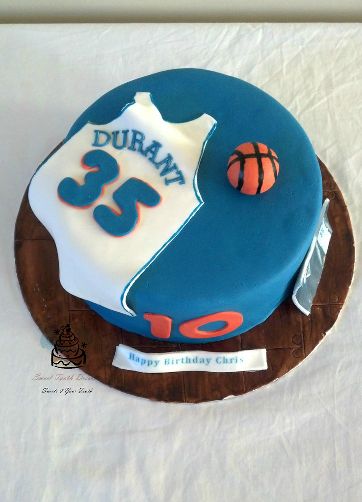 Kevin Durant Basketball Birthday Cake 9in Kevin Durant ...
