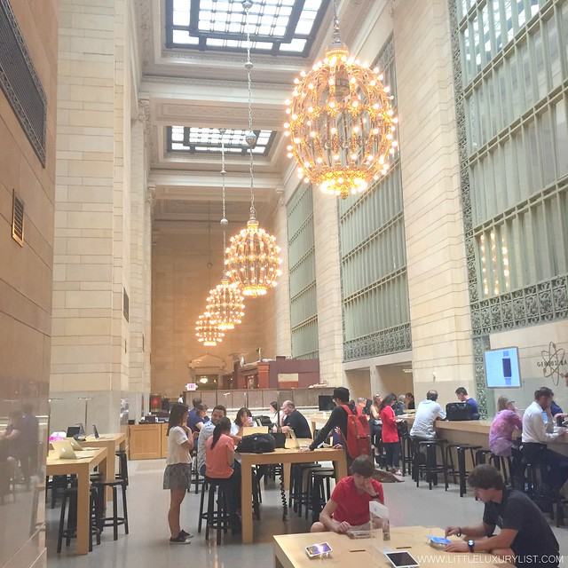 Apple Store Grand Central Terminal by little luxury list
